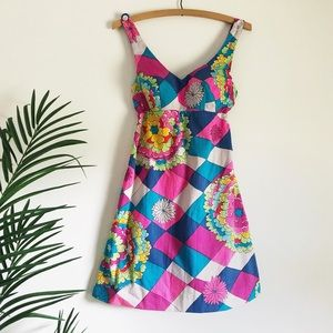1960s psychedelic dress